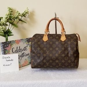 LV speedy 30 authentic